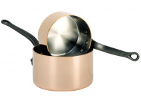 de Buyer de Buyer INOCUIVRE Copper Saucepan with cast-iron handle-20