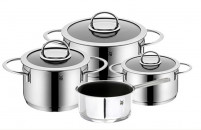 WMF WMF 4-piece cookware in polished stainless steel-20