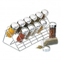 Kitchencraft Kitchencraft Set 12 jars for spices-20