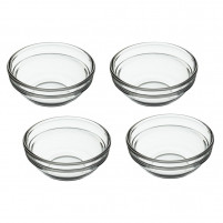 Kitchencraft Kitchencraft Set of 4 crystal bowls-20