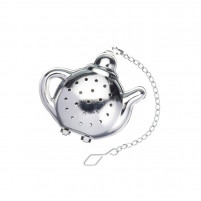 Kitchencraft Kitchencraft Tea infuser in stainless steel teapot shape-20