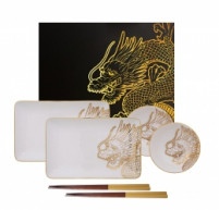 Tokyo Tokyo DRAGON GOLD Sushi Set of 6 pieces-20