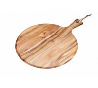 Kitchencraft Kitchencraft Round Wood Panel 41x30cm-20
