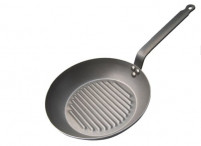 de Buyer de Buyer Grill Frying Pan CARBONE PLUS-20