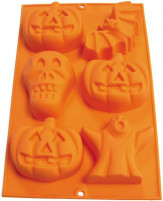 Lekué Lekué Halloween Mold 6 Cavity-20