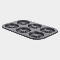 de Buyer de Buyer Nonstick steel pastry tray Mini-savarins-20
