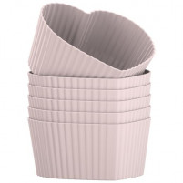 Kitchencraft Kitchencraft 12 Pink Silicone Cases KATIE ALICE-20