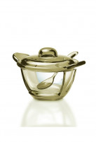 Guzzini Guzzini GOCCE Sand Server Bowl with teaspoon-20