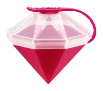 Lekué Lekué Ice Block Diamond Mold Pink-20