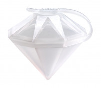 Lekué Lekué Ice Block Diamond Mold White-20