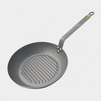 de Buyer de Buyer MINERAL B ELEMENT round Grill fry pan-20