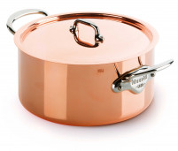 Mauviel 1830 Mauviel 1830 Copper Stewpan with Stainless Steel handle-20