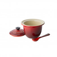 Le Creuset Le Creuset Sugar bowl with cherry spoon-20