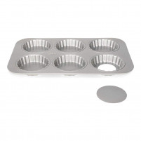 Patisse Patisse Mold 6 Mini Tarts-20