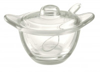 Guzzini Guzzini GOCCE Server Bowl with teaspoon-20