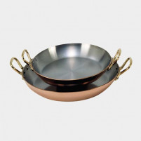 de Buyer de Buyer Round dish in copper-stainless steel 24cm-20