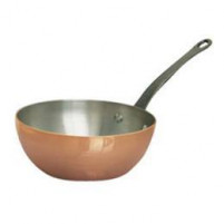 de Buyer de Buyer INOCUIVRE Copper Conical Sauté pan with cast-iron handle-20
