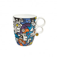 Billy the artist Billy the artist Porcelain Mug CASUAL CONVERSATION-20