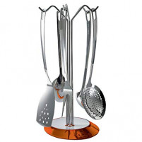 Bugatti Bugatti Orange Set 5 pcs kitchen tools GLAMOUR-20