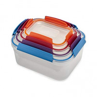 Joseph Joseph Joseph Joseph NEST LOCK Set 4 of food container-20