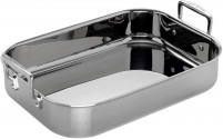 Le Creuset Le Creuset 3-Ply Oven roaster, 35 x 25 x 7 cm, Stainless steel rectangular-20