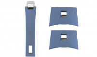 Cristel Cristel Set Removable side handles CASTELINE lavender blue-20