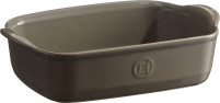Emile Henry Emile Henry Rectangular Backing Dish ULTIME Grey-20