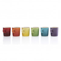 Le Creuset Le Creuset Set of 6 Mug 350ml Rainbow-20