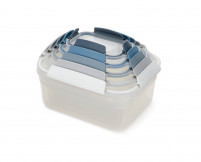 Joseph Joseph Joseph Joseph NEST LOCK Set 5 of food container. Edition Sky-20