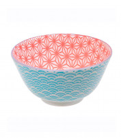 Tokyo Tokyo STAR WAVE Bowl Light Blue / Red-20