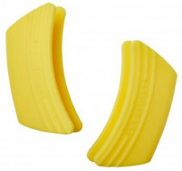 Le Creuset Le Creuset Yellow Silicone Side Handle Pot Grips x2-20