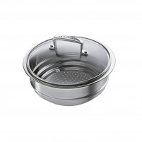 Le Creuset Le Creuset Steamer with glass lid 20/24cm-20