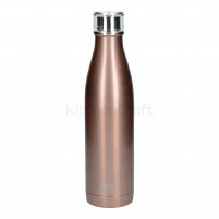 Kitchencraft Kitchencraft Built 740ml Double Walled Stainless Steel Water Bottle Rose Gold-20