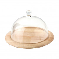 Riera Riera Round Glass Cheesedish-20