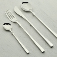 Blue Leaves Blue Leaves Set 4 pcs Table Cutlery Stainless steel-20