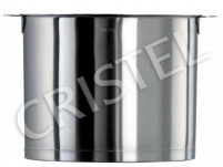 "Cristel Cristel STRATE REMOVABLE Stock Pot without Lid (""L"" Line) 22cm-7,2L-20"