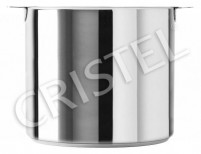 Cristel Cristel MUTINE REMOVABLE Stock Pot without Lid (Classic Line) 22cm-7,2L-20