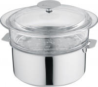 Cristel Cristel COMPLEMENTS Glass Steamer 24cm Fits with Saucepans 24cm-20