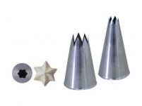 de Buyer de Buyer Stainless Steel Star Nozzle 0.5cm-20