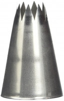 de Buyer de Buyer Stainless Steel Star Nozzle 1.8cm-20
