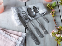 Kitchencraft Kitchencraft Floral 16 Piece Cutlery Set-20