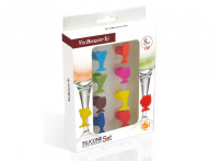 Vin Bouquet Vin Bouquet Glass Markers 8 pieces-20