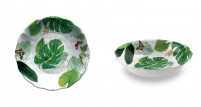 Touch Mel Touch Mel Serving Bowl Set of 2 unid. Floral YORK-20