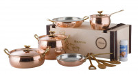 Ruffoni Ruffoni HISTORIA DECOR Copper 8 Pieces Set In Wooden Box-20