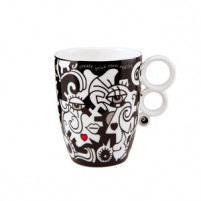 Billy the artist Billy the artist Taza de Porcelana TWO IN ONE-20