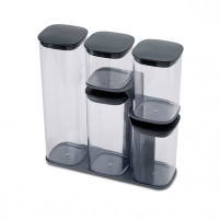 Joseph Joseph Joseph Joseph Set of 5 kitchen jars with stand-20
