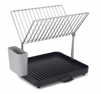 Joseph Joseph Joseph Joseph Y-RACK 2-tier self-draining dish rack grey-20