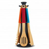 Joseph Joseph Joseph Joseph ELEVATE Set of wooden utensils-20