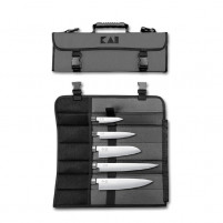KAI KAI WASABI BLACK Set of 5 Knives + Bag-20