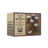 Kitchencraft Kitchencraft Set 6 jars for spices-20